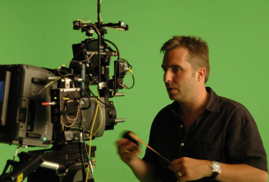 Marc testing Genesis camera